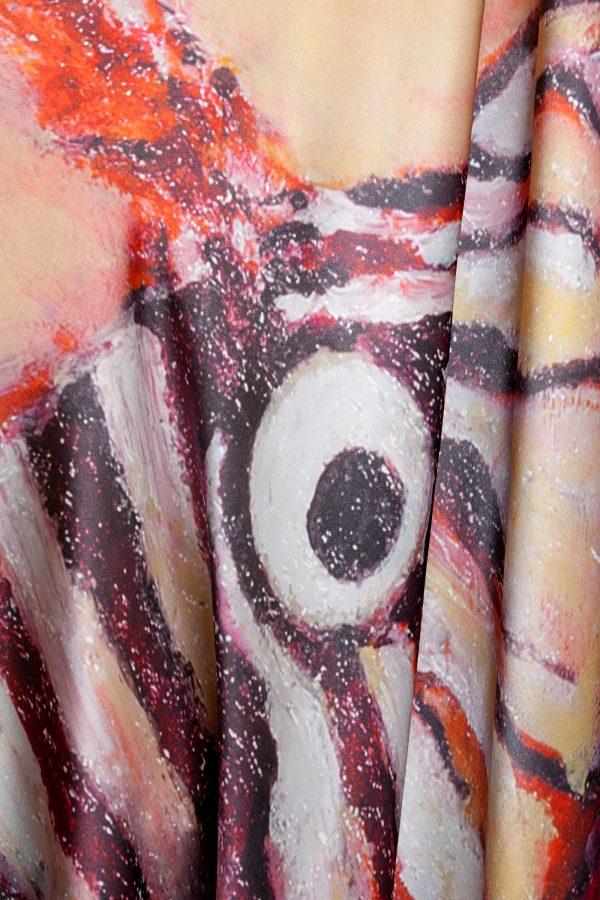 Lion Fish Silk Scarf 4