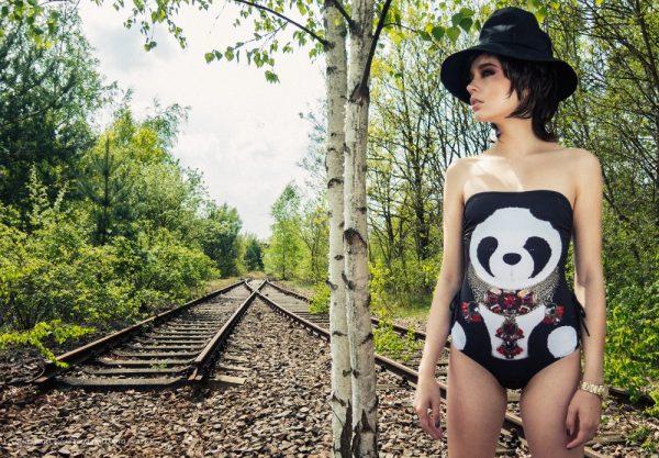Panda Bathing Suit