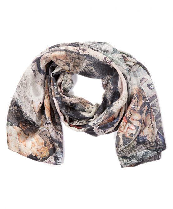 shhh silk scarf