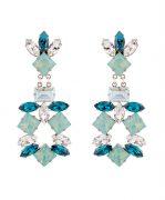 Azure Night Earrings