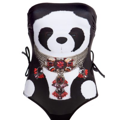 """Panda"" One piece swimsuit"