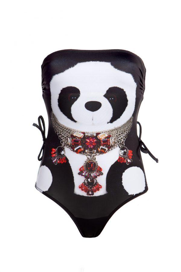 Panda Bathing Suit 1