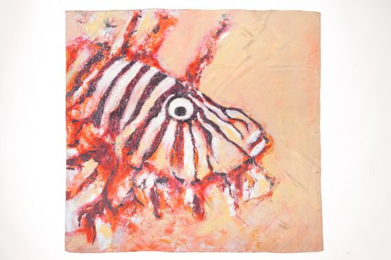 Lion Fish Silk Scarf 3