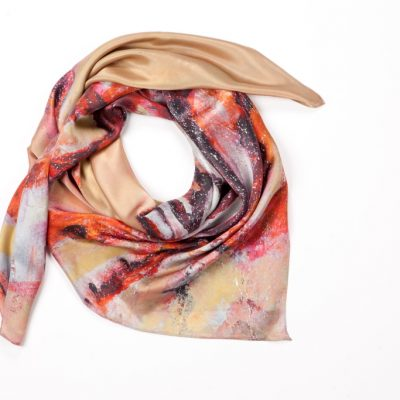 Lion Fish Silk Scarf