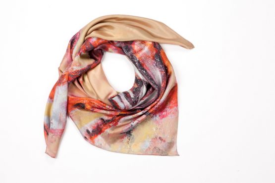 Lion Fish Silk Scarf 1