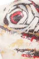 Zebra Fish Cashmere Scarf
