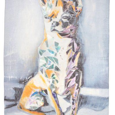 Chihuahua - Silk scarf