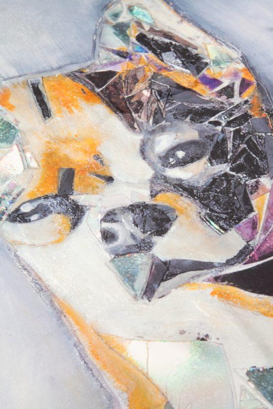 Chihuahua Silk Scarf 3