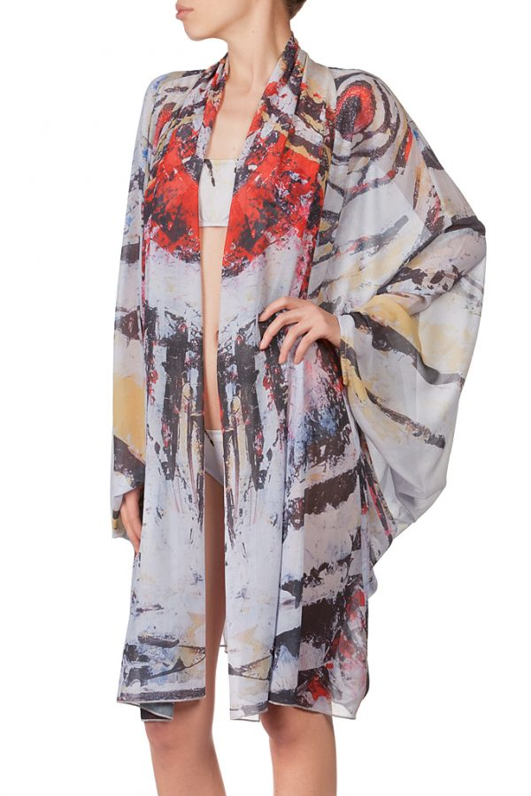 Zebra Fish Kimono 1