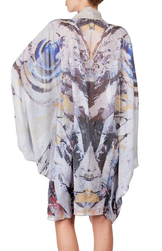 Zebra Fish Kimono 6