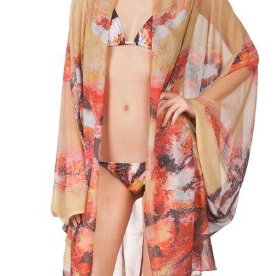 """Lion Fish"" Kimono"