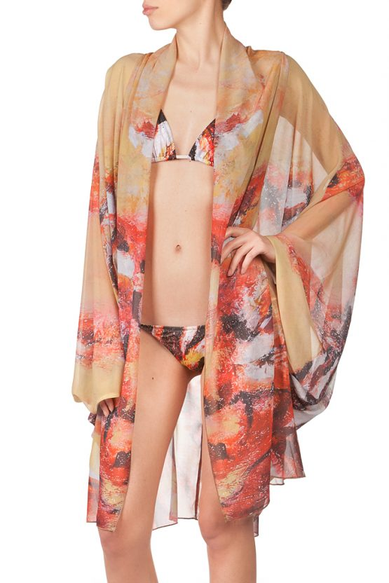 Lion Fish Kimono