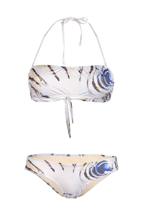 Zebra Fish Bathing Suit
