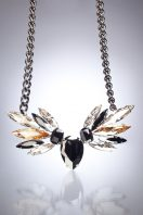 Black Wings Necklace