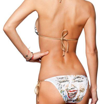 """Angel Smile"" Triangle bikini top"