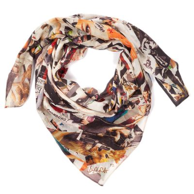Madness No Limit Cashmere scarf