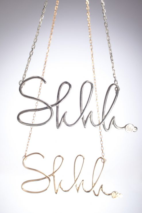 Shhh Necklace