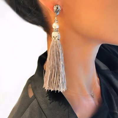 Gothic Tassel Earrings