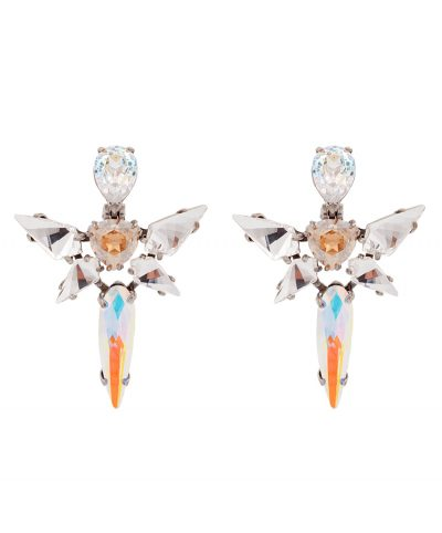 Angel - Silver Plated Earrings