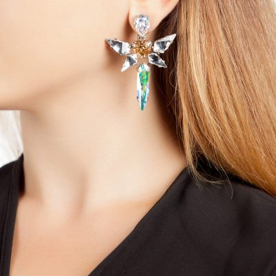 Angel – Silver Plated Earrings