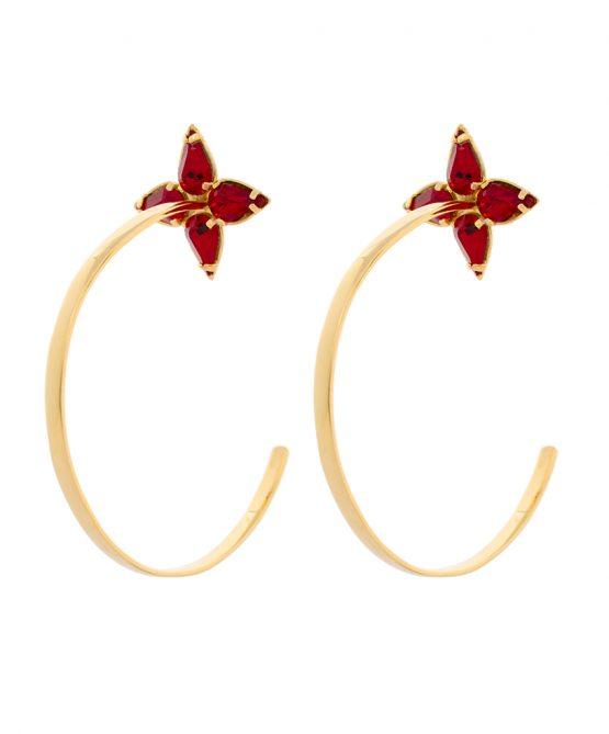Embrace - earrings gold