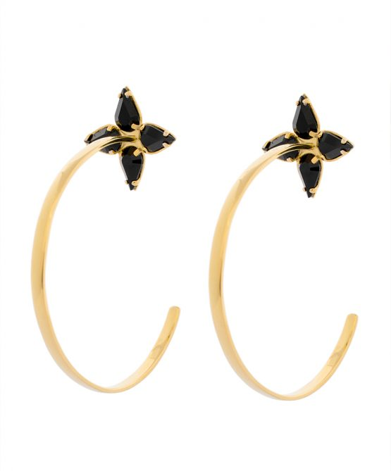 Embrace - earrings gold