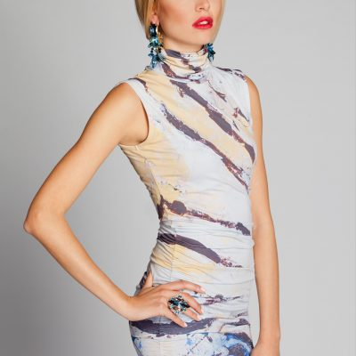 Zebra Fish Dress