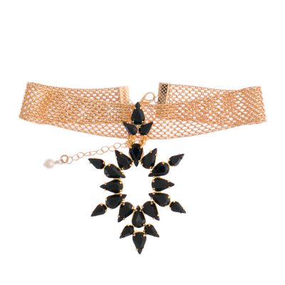 Dew Black Choker
