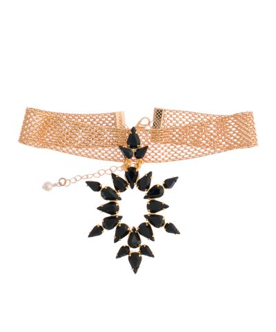 """Dew""-Black Choker"