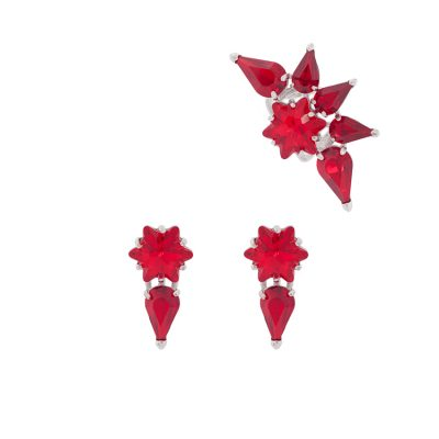Edelweiss - Red Ear cuff