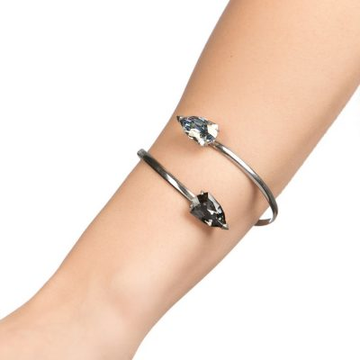 Cobra – Rhodium Plated Bracelet
