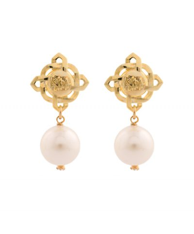 Brand Pearl Earrings