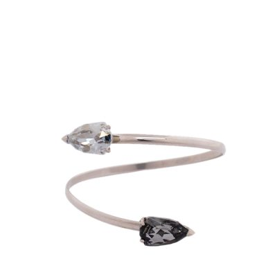 Cobra - Rhodium Plated Bracelet