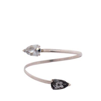 Cobra - Rhodium Plated Bracelet