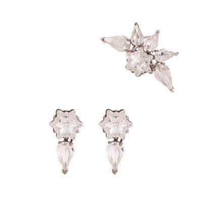 Edelweiss - Crystal Ear cuff