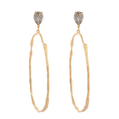 Rusty Glitz - Gold Plated Earrings