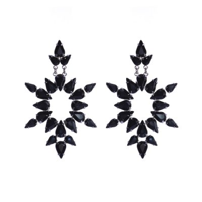 Dew  - Black Earrings
