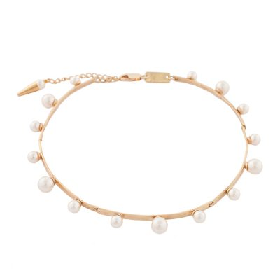 """Pearl Magic"" Gold Plated Choker"