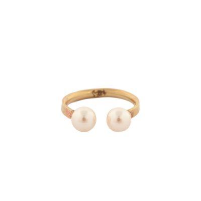 Pearl Magic - ear cuff/ring