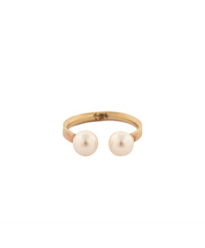 Pearl Magic - ear cuff/ring