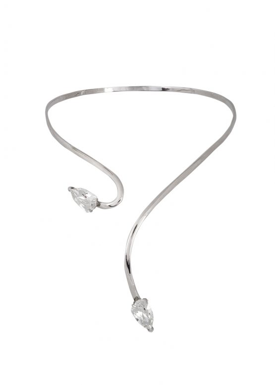 Cobra necklace-crystal