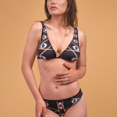 Look At Me – two pieces black swimsuit