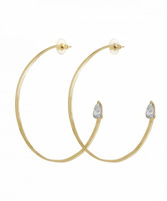 cobra earrings - blue shade