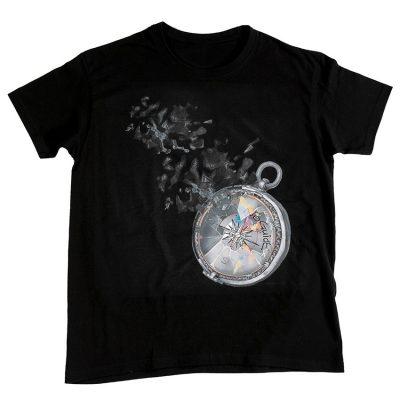 """NoGuide """"Компас на мечтите"""" - Черна Тениска"""