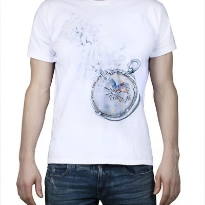 """Compass of dreams"" – White T-shirt"