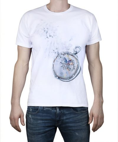 """Compass of dreams"" - White T-shirt"