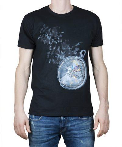 """""""Compass of Dreams"""" - Black T-shirt"""