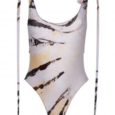 """""""Zebra Fish"""" - One Piece Swimsuit"""