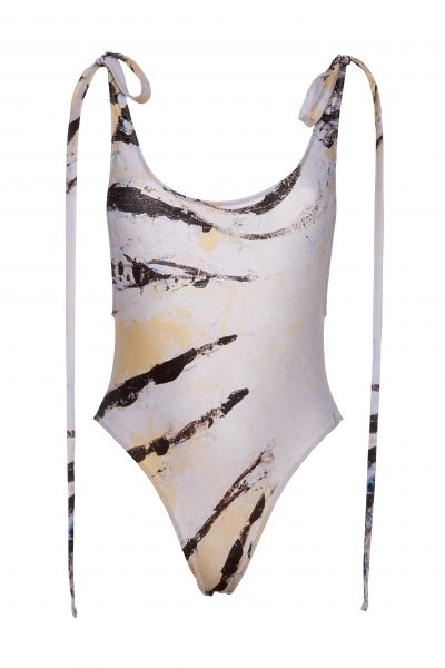 Zebra Fish - One Piece Swimsuit