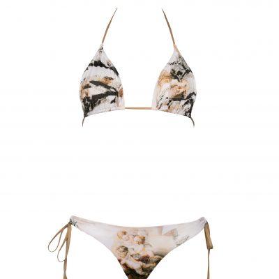 Angel Smile-Triangle bikini top